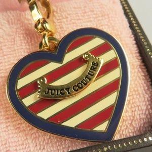 Juicy Couture Nautical Heart Charm YJRU1657